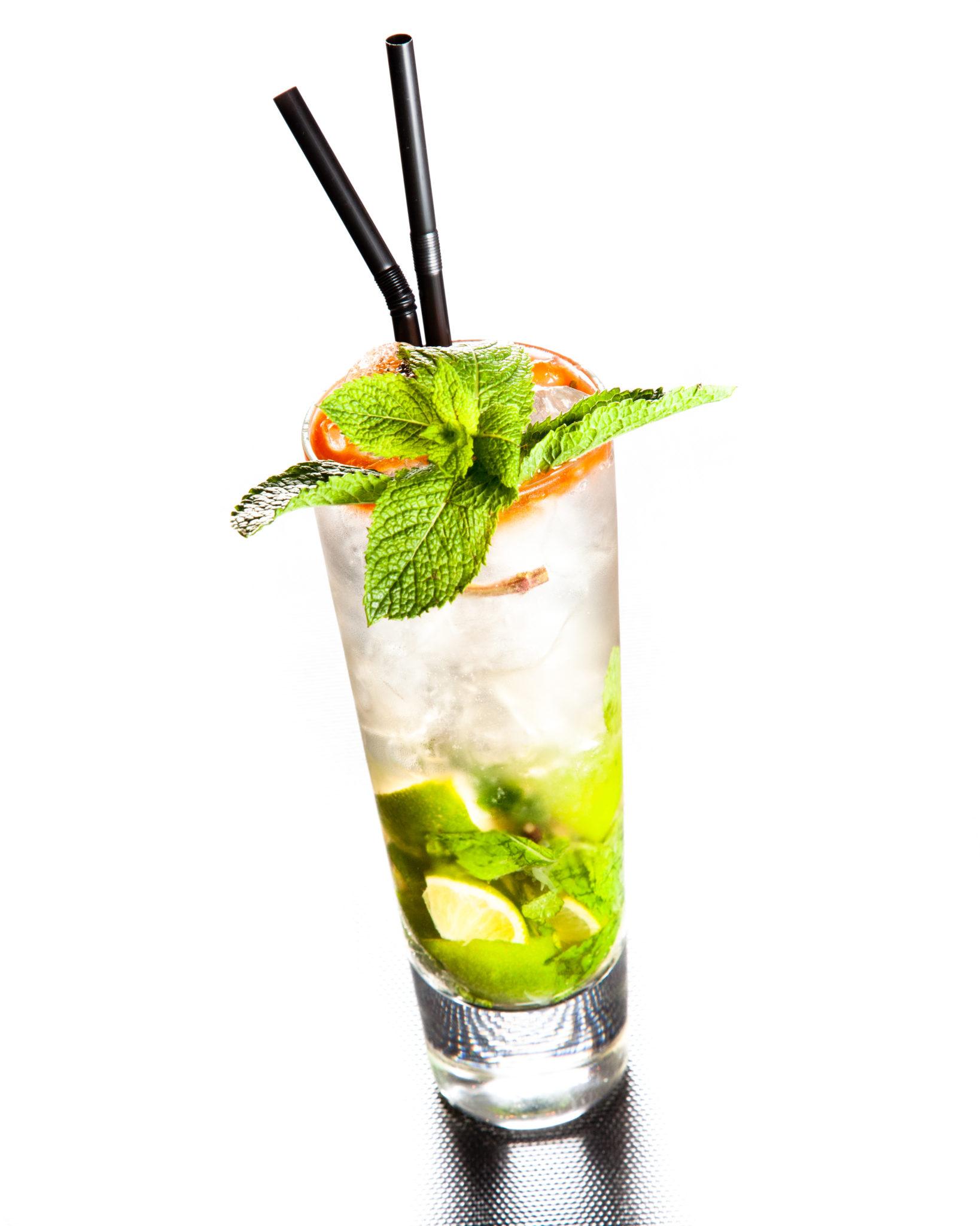 Pineaujito cocktail au Pineau des Charentes