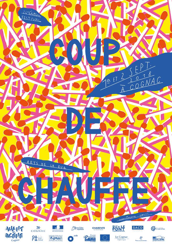 Coup de Chauffe 2018 - Festival des arts de la rue à Cognac