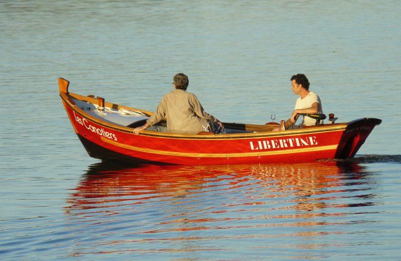 Les canotiers à Port-d'Envaux - 1