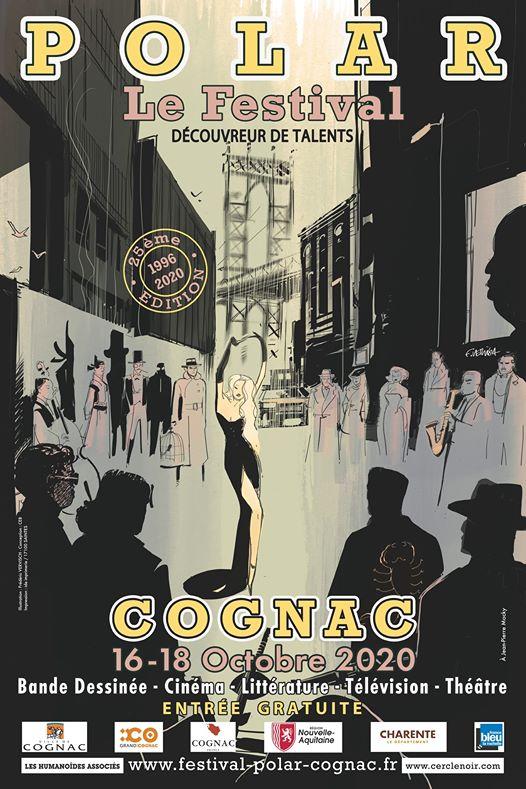 Crime novel Festival Cognac