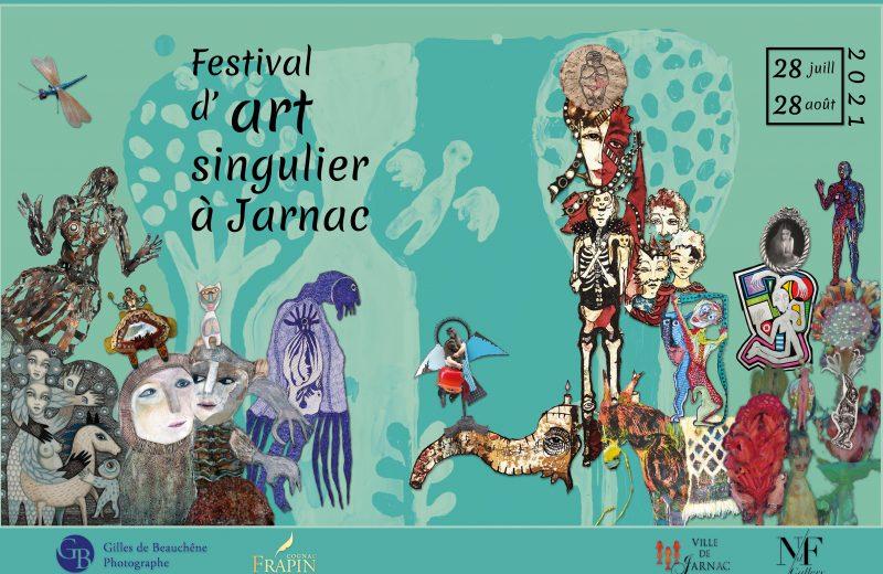 Exposition – Festival d'Art Singulier à Jarnac - 0