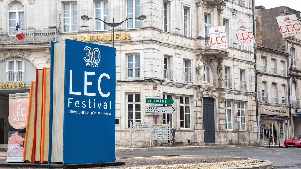 European Literature Festival A Cognac Le 2 July 2018 Destination Cognac