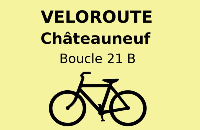 Châteauneuf : Local itinerary 21 B à Châteauneuf-sur-Charente - 0