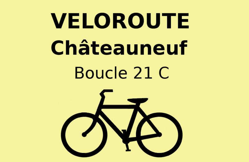 Châteauneuf : Local itinerary 21 C à Châteauneuf-sur-Charente - 0