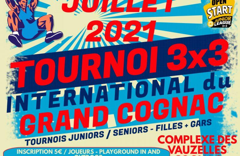 "Tournoi 3×3 du ""Grand Cognac"" à Châteaubernard - 0"