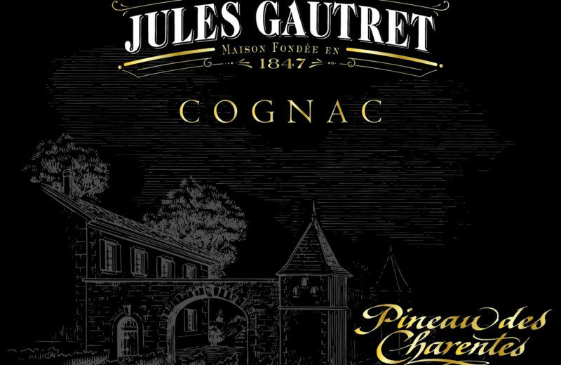 PINEAU COGNAC  JULES GAUTRET à ST GERMAIN DE LUSIGNAN - 0