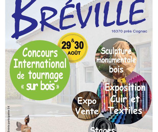 14TH FESTIVAL ART ET PASSION DU BOIS –  CANCELLED à BREVILLE - 0