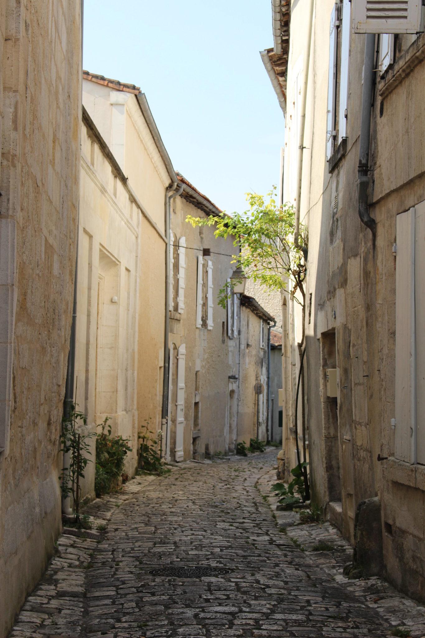 Rue Henri Germain à Cognac