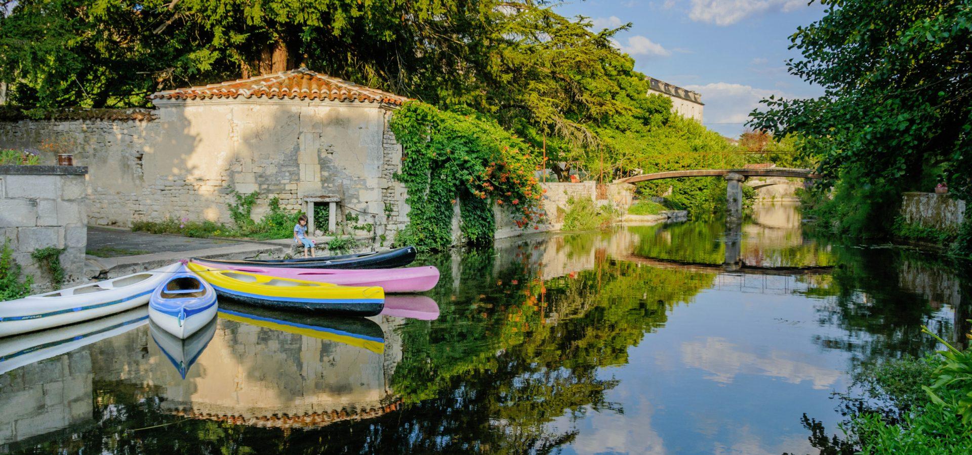 Visite au fil du fleuve Charente