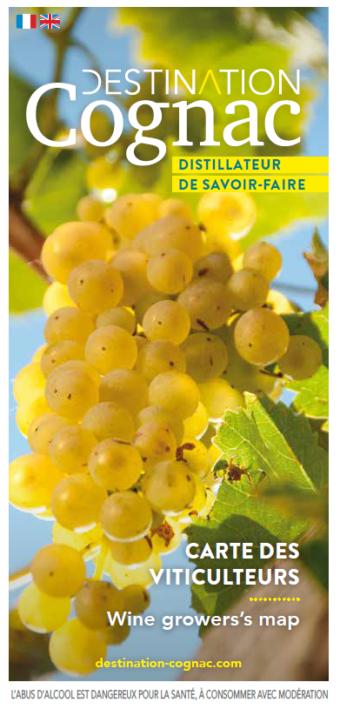 Carte des viticulteurs 2018 - Distillateurs de savoir-faire