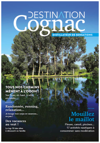 Brochure Loisirs Destination Cognac Distillateur de sensations 2018