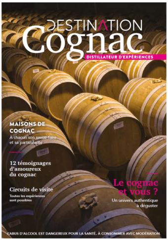 Brochure Maisons de Cognac Destination Cognac Distillateur d'expérience 2018
