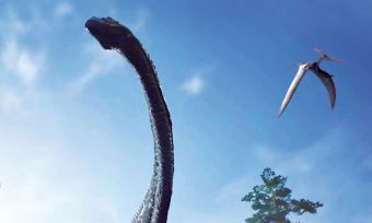 Visite virtuelle trois cent soixante dinosaure Angeac Charente