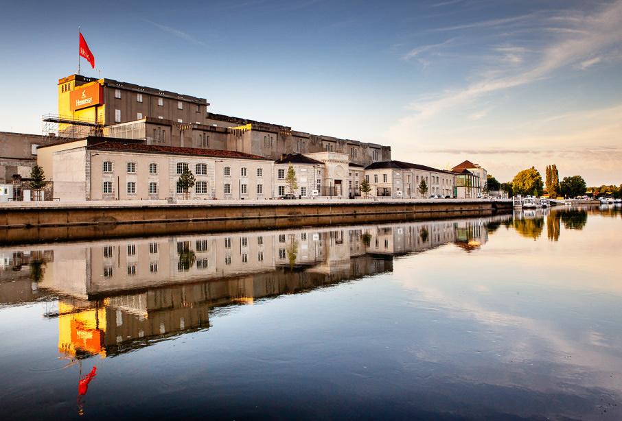 Visite histoire et architecture à la maison de cognac Hennessy pendant les Journées Européennes du Patrimoine
