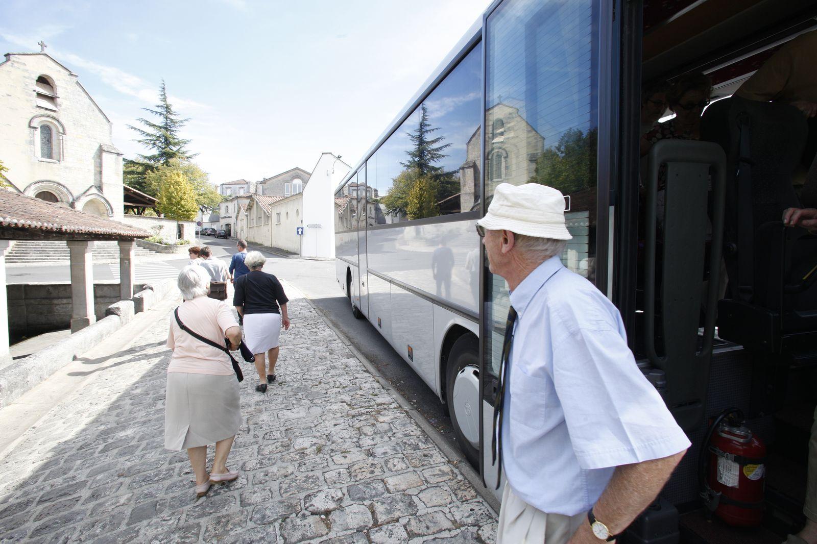 Visite guidée Patrimoine mobile, visite en bus