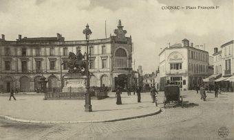 Place François 1er à Cognac