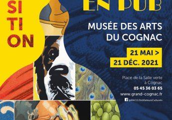 Exposition Le cognac en pub