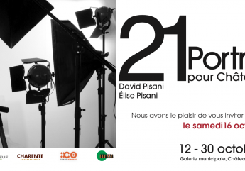 Exposition 21 portraits pour Châteauneuf