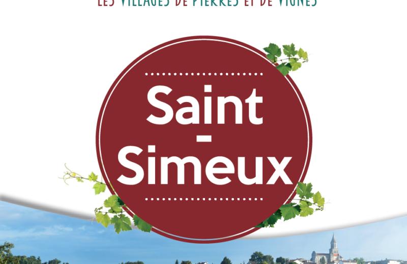ST-SIMEUX, VILLAGE DE PIERRES ET DE VIGNES à ST SIMEUX - 2
