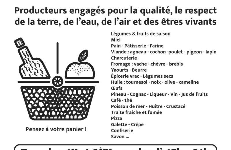 MARCHÉ PAYSAN à VILLARS LES BOIS - 1