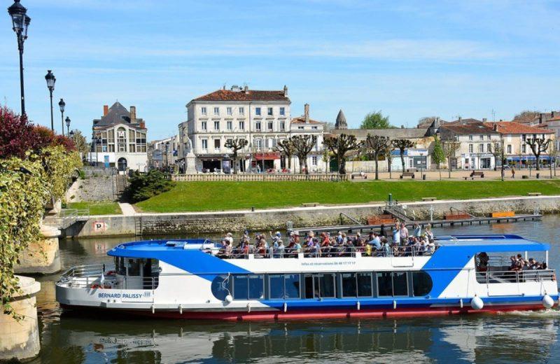 Croisières fluviales Le Bernard Palissy III à Saintes - 1