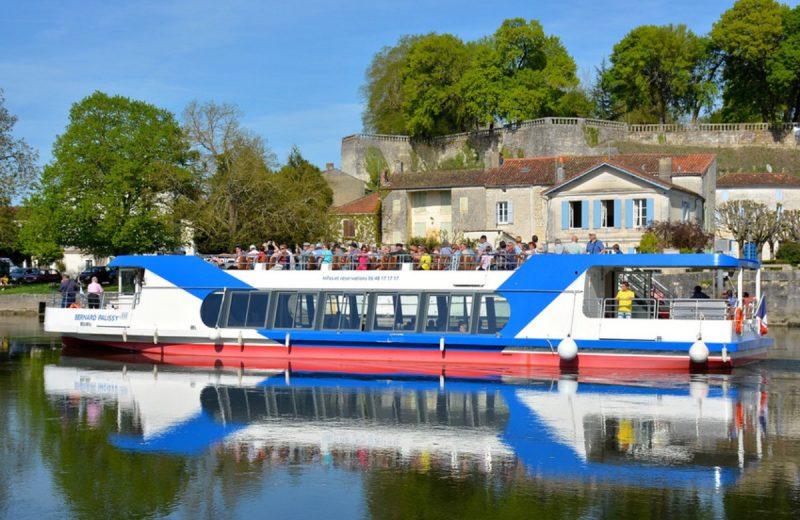 Croisières fluviales Le Bernard Palissy III à Saintes - 2