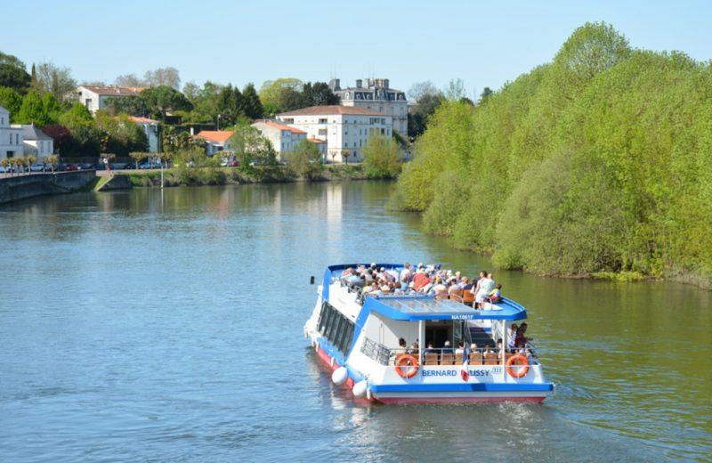 Croisières fluviales Le Bernard Palissy III à Saintes - 5