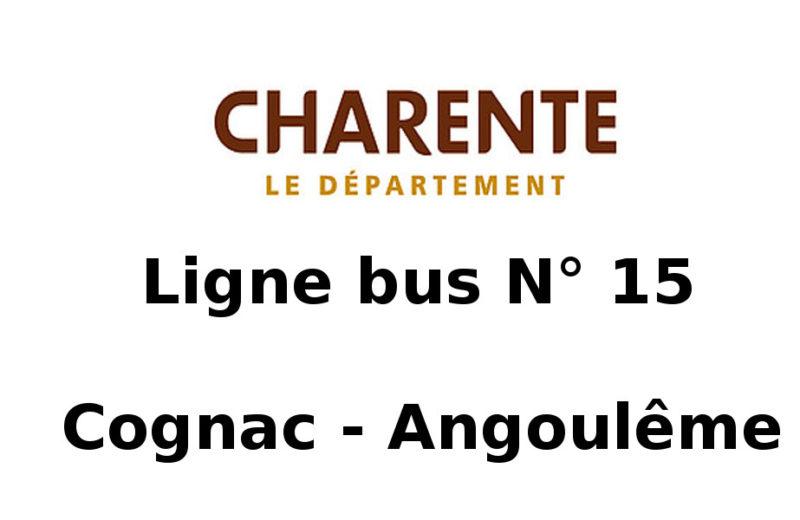 Ligne bus n°15 – Cognac Angoulême à Cognac - 0