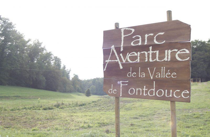 Parc Aventure de Fontdouce à Saint-Bris-des-Bois - 1