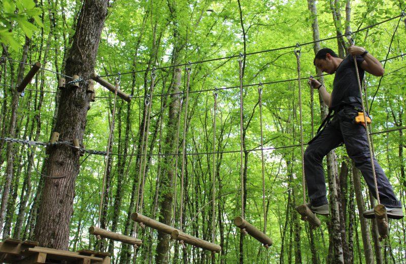 Parc Aventure de Fontdouce à Saint-Bris-des-Bois - 2