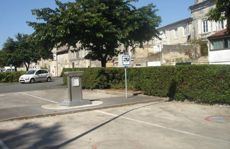 Aire de services camping-cars de Cognac à Cognac - 2