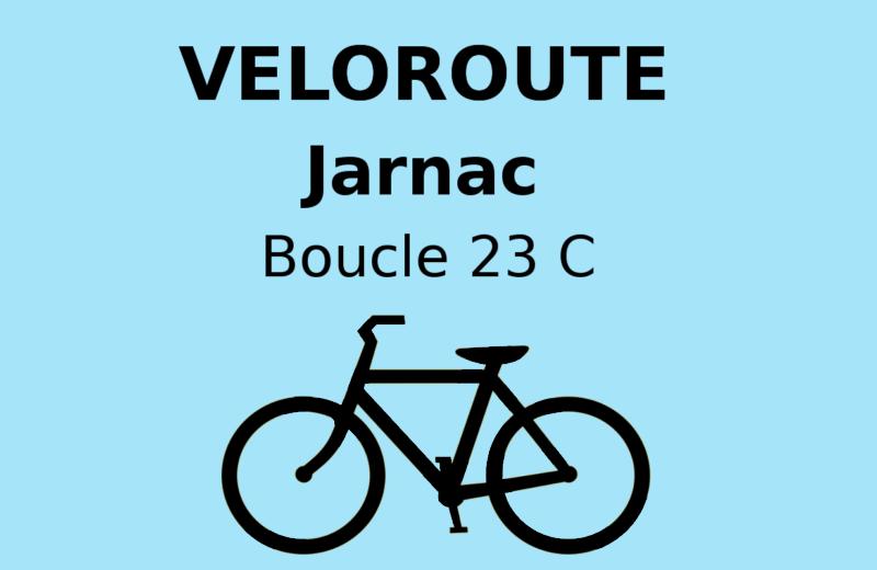 Jarnac : Boucle locale 23 C à Jarnac - 0