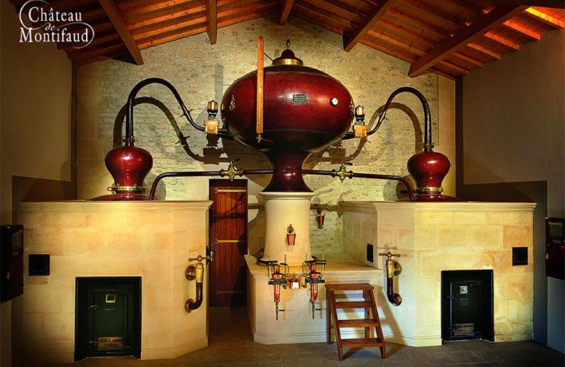 Visite confidentielle au Château Montifaud à Jarnac-Champagne - 1