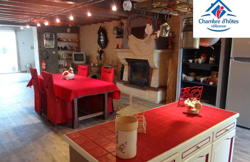 Chambres d'hôtes – Le Grillage à Poules à Gensac-la-Pallue - 0