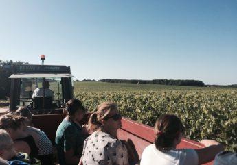 Nos balades en tracteur